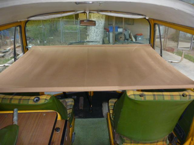 Cab Storage Child Cot for T2 Bay Window