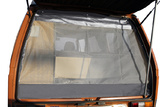 VW T25 (Vanagon) Rear Hatch Screen with Grey Leather Trim